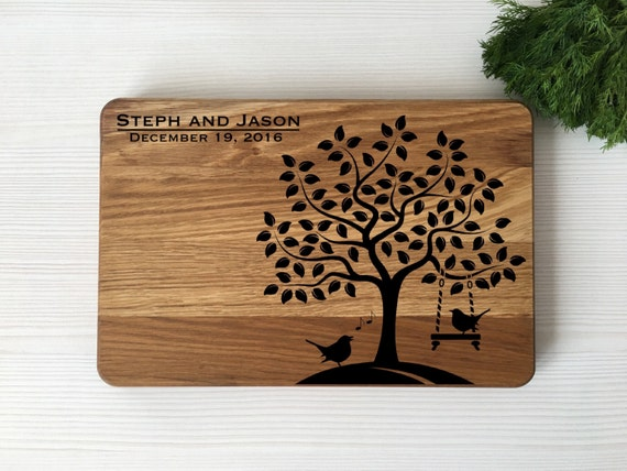 Personalized cutting board,Wedding gift,Wood cutting board,board for couple,Custom cutting board,personalized gift,housewarming gift