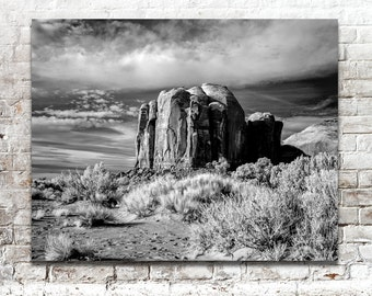 Landscape Photos, Arizona Desert Photography, Infrared Photos, Scenic Photos, Monument Valley, Black White Photography, Wall Art