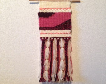 Handmade wall hanging / weaving