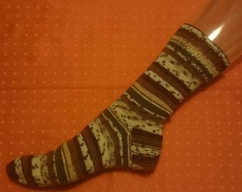 Knitting socks size 42/44, handmade.