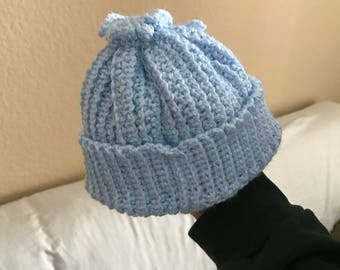 Baby Blues Baby Hat