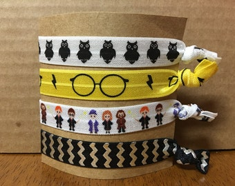 Harry Potter Hufflepuff Hair Ties