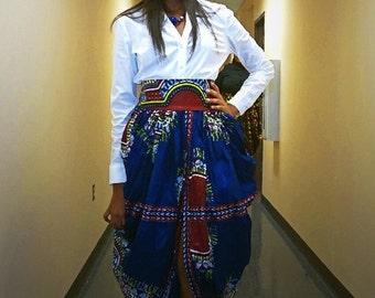 Gorgeous Harem Dashiki/Angelina/Ankara/Wax Skirt