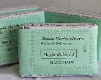 Maine Maple Oatmeal Soap