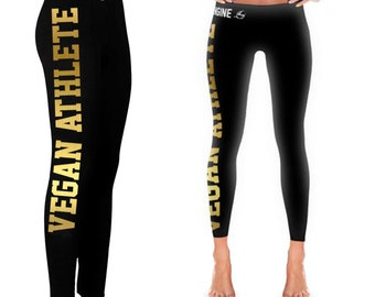 Vegan Leggings - Vegan Athlete Women's Tights