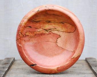 Handmade Spalted Desert Sunset Wooden Bowl