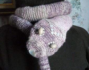 Crochet scarf, snake scarf, animal scarf, funny scarf, crochet snake scarf, crochet animal scarf, amigurumi scarf, amigurumi snake scarf