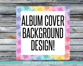 Facebook Album Cover Background Designs! Instant Download! LLRBGAL_02