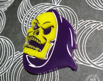 Skeletor - Pin badge, magnet, heman , masters of the universe