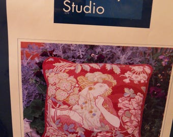 CECILE Miss Kitty Tapestry Studio Tapestry Kits Exclusive to John Lewis in UK