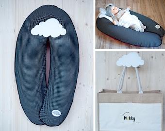 Cushion maternity pack 3 in 1 - 2 m, ultrafine microbeads cushion - Hubby Barcelona