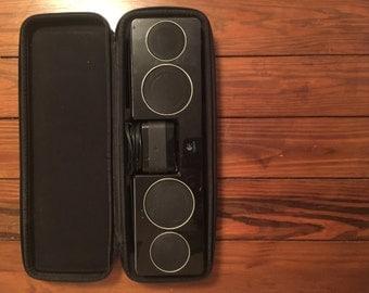 Logitech portable speaker and case