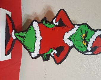 """18"""" Table Top Grinch"""