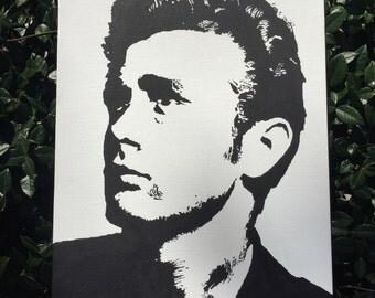 James Dean Portrait