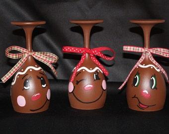 Gingerbread Men Tealight Candle Holder