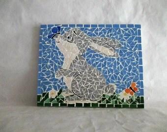 """Table tiled """"Little rabbit"""""""