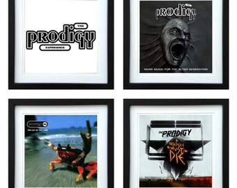 The Prodigy - Framed Album Art - Set of 4 Images