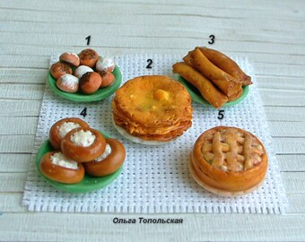 Miniature Food. Scale 1:12