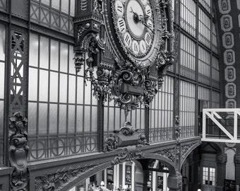 Musée d'Orsay Clock, Paris Photography