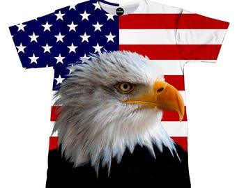 iTrendy Eagle American Flag
