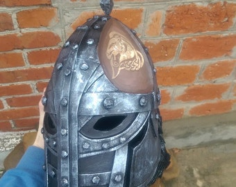 Stormcloak Helmet / Inspired TES V / Skyrim / Elder Scrolls / props