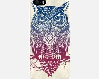 Owl iPhone Case, Colorful Phone Case, iPhone 6 Case, iPhone 6 Plus Case, iPhone 7 Case, iPhone 7 Plus Case, iPhone 5s Case, Phone Cover