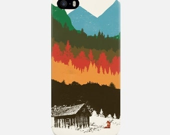 Mountains iPhone Case, Multicolor Phone Case, iPhone 6 Case, iPhone 7 Case, iPhone 6 Plus Case, iPhone 5s Case, iPhone 7 Plus Case, Colorful