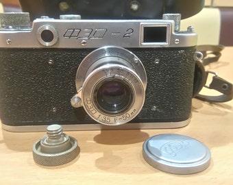 Soviet vintage film camera FED-2