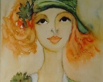 Portrait of a woman: Annabelle