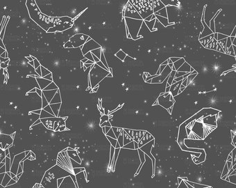 Constellations stars Fabric by andrea_lauren