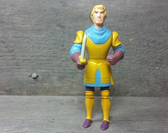 Vintage Phoebus De Chateaupers from the Disney movie The Hunchback Of Notre-Dame 90's figurine pvc plastic figure Doll Disneyland