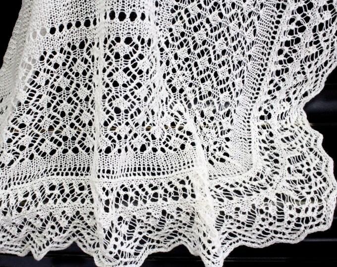 Wedding shawl, wedding cape, wedding accessory, shawl milky, shawl , hand knit shawl, crochet shawl, lace shawl, knit shawl, knit scarf
