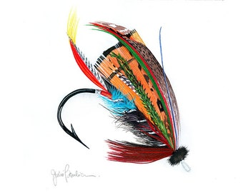 Fishing Fly: Black Dose