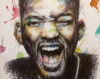 Celebrities Color Portrait's series