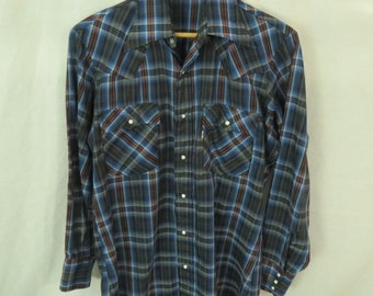 Levi's Western Shirt Size Medium