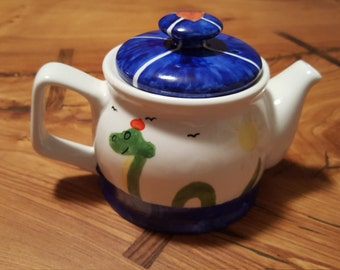 Nessie Ceramic Teapot (One cup or two cup)