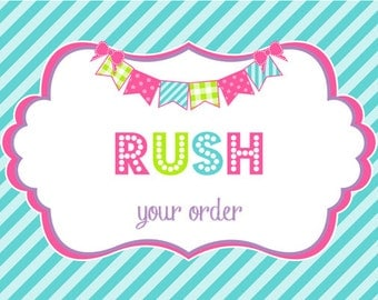Rush Order Processing for Kids Cups