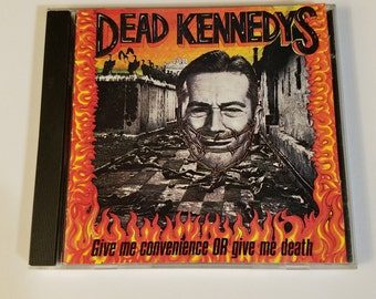 Dead Kennedys-Give me Convenience or Give me Death used cd