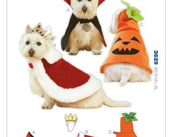 Kwik Sew 3629 Pet Costumes    New in Envelope.