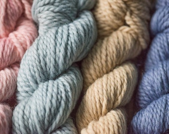 SALE - Naturally Dyed Yarn - Limited Edition Packs