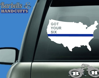 Police Support Decal Etsy - Family car sticker decalsfamily car decal etsy