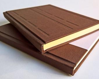 Brown/Pink Door Notebook Set Relief and Paper Cover