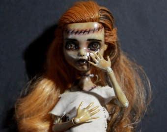 Jessica (Custom OOAK Monster High Repaint)