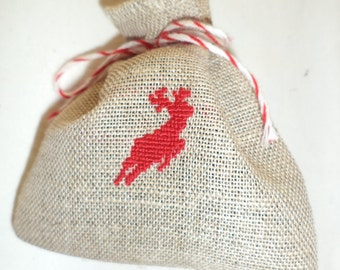 Lavender bag deer