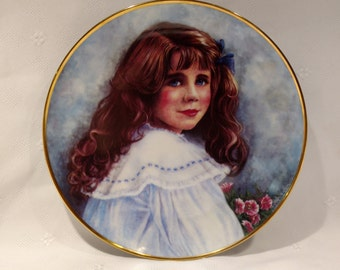 Lady Elizabeth Limited Edition Franklin Mint Plate by Patricia Nichols A3893