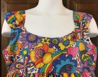 Girls cotton sundress