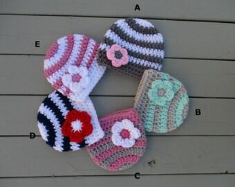 Baby Crochet Hat Crochet Baby Hat Newborn Girl Hat Baby Girl Hat Knitted Baby Girl Hat Baby Girl Beanie Baby Girl Newborn Newborn Girl Hat