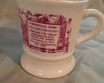 Vintage Norleans Pumpkinville Shaving Mug