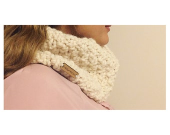 Cozy Knitted Cowl Made to Order