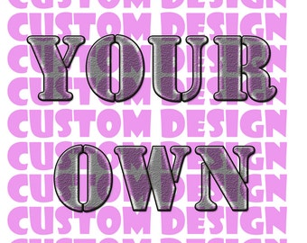 Get Your Own Custom Cookie Cutter and Stamp Set